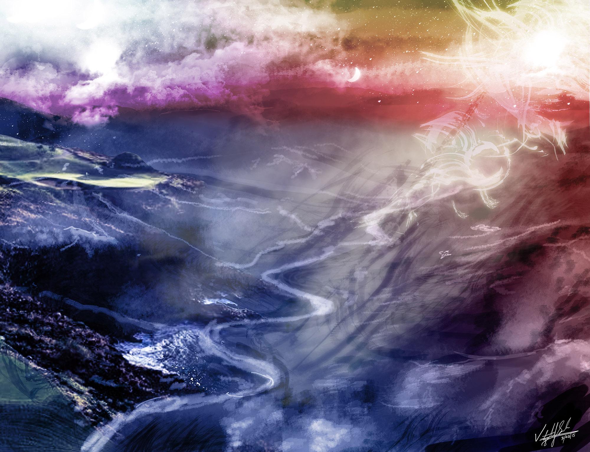 """Dreamscape"" - Digital painting"
