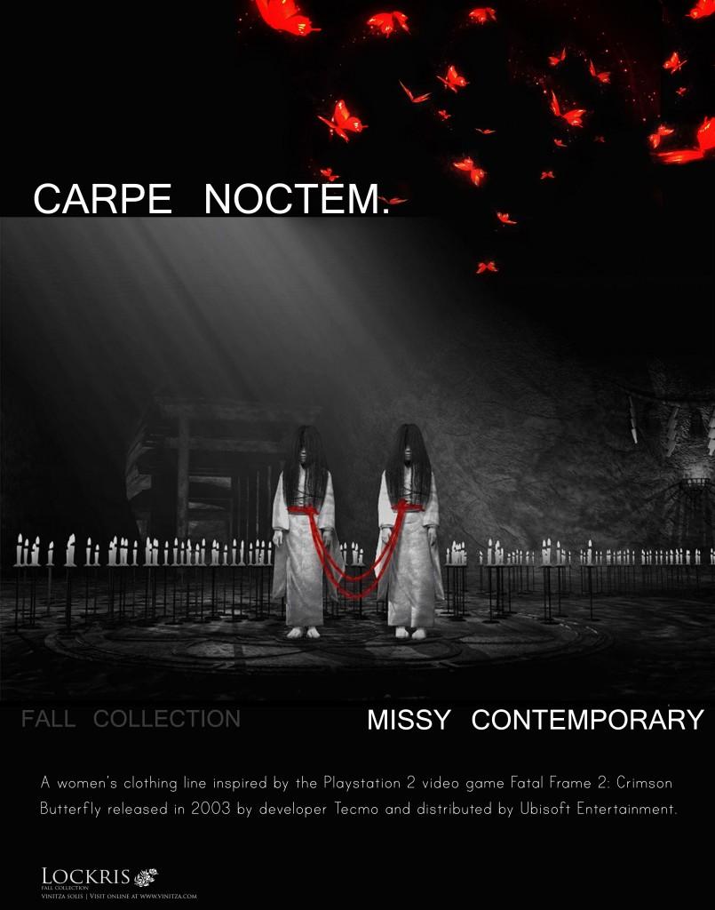 CARPE NOCTEM - inspiration page